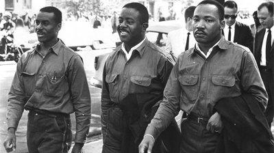 The Big Three: Rev. Fred L. Shuttlesworth, Dr. Martin Luther King, Jr., and Rev. Ralph Abernathy Photo Cred: npr.org